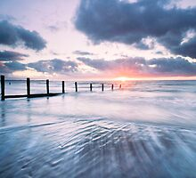 sunset at mawbray by paul mcgreevy