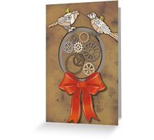 2 Turtle Doves Greeting Card