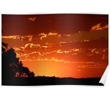 September Sunset Poster