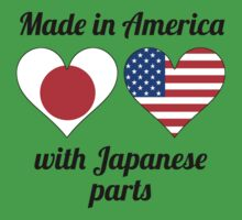 Made In America With Japanese Parts Baby Tee