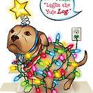Yule Dog by Linda Hardt