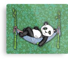 iPod Panda Metal Print