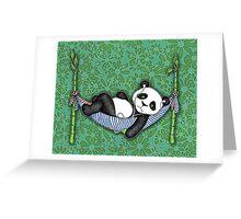 iPod Panda Greeting Card