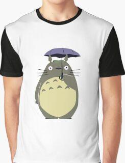 Alone Totoro Graphic T-Shirt