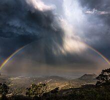 Epic stormcloud rainbow by Tim Swinson