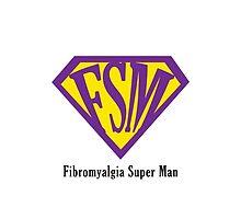 Fibromyalgia Super Man by Hopasholic
