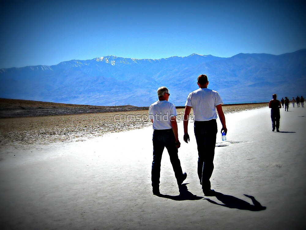 A Walk In Death Valley by Mike Pesseackey (crimsontideguy)