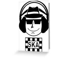 Ska Greeting Card