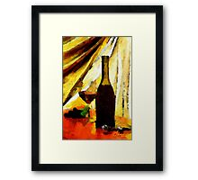 Some Wine Framed Print