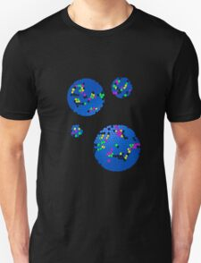 Retro Honey Comb Circles # 1 Unisex T-Shirt