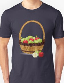 Red and Green apples Unisex T-Shirt