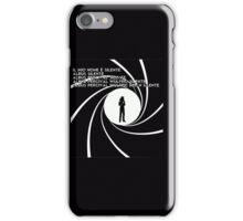 007 Albus (ITA) iPhone Case/Skin