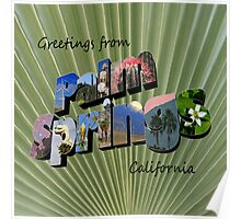 Greetings from Palm Springs  Poster