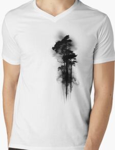 Enchanted Forest Mens V-Neck T-Shirt