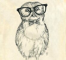 Nerdy Owlet by Redilion