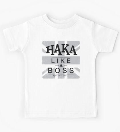 Haka like a boss Kids Tee