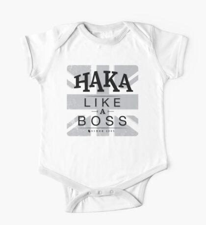 Haka like a boss One Piece - Short Sleeve