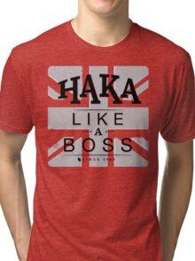 Haka like a boss Tri-blend T-Shirt