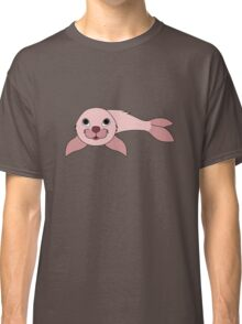 Light Pink Baby Seal Classic T-Shirt