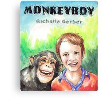 Monkeyboy Cover Canvas Print