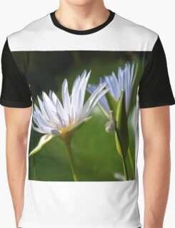 Waterlily Tablet Case Graphic T-Shirt