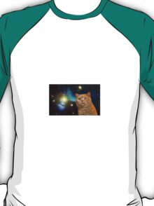 Cat in space 2 T-Shirt