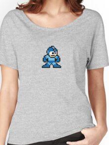 Pixel Megaman Standing Women's Relaxed Fit T-Shirt