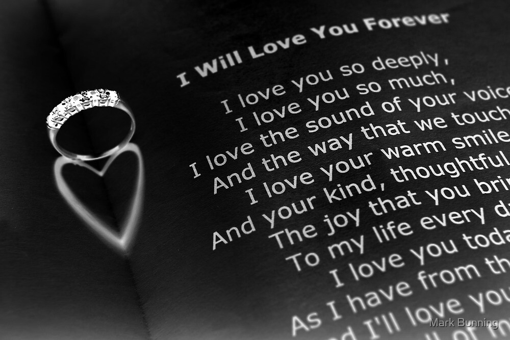 Love you forever by Mark Bunning