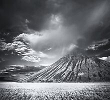 Storm Cell Over Chocolate Mountain by Jill Fisher