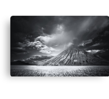 Storm Cell Over Chocolate Mountain Canvas Print