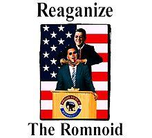 Reaganize the romnoid 1 Photographic Print