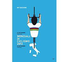 MY Mondiali di Ciclismo MINIMAL POSTER - 2013 Photographic Print