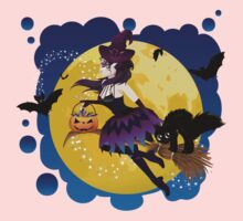 Witch and Full Moon 5 Kids Clothes
