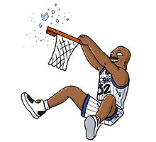 Shaquille O'Neal Photographic Print