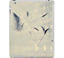 delicate balance iPad Case/Skin