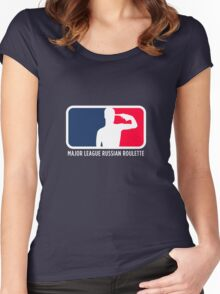 Major League Russian Roulette Women's Fitted Scoop T-Shirt