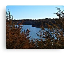 Lake Alvin South Dakota Canvas Print