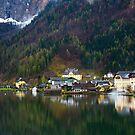 The Rlexion of hallstatt by arthit somsakul