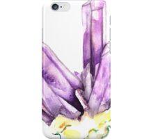 Amethyst Crystal iPhone Case/Skin