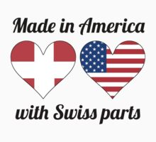 Made In America With Swiss Parts Baby Tee