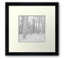 Here you will find me alone in my dream Framed Print