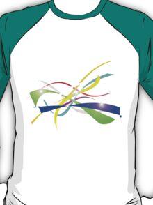 Color Nine Ribbon T-Shirt