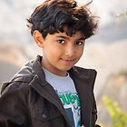 Turkish Boy with Slingshot by Robert Kelch, M.D.
