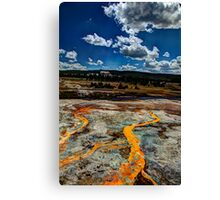 River of Fire Canvas Print