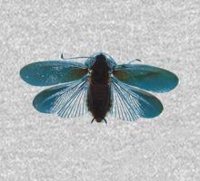 Blue Moth One Piece - Long Sleeve
