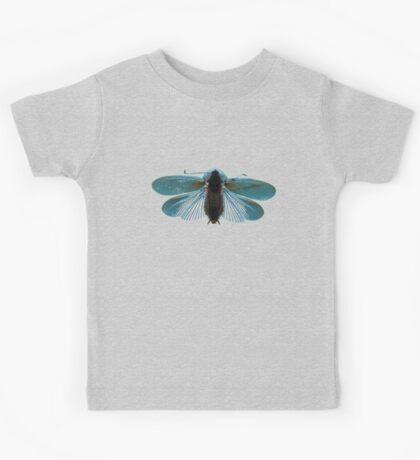 Blue Moth Kids Tee