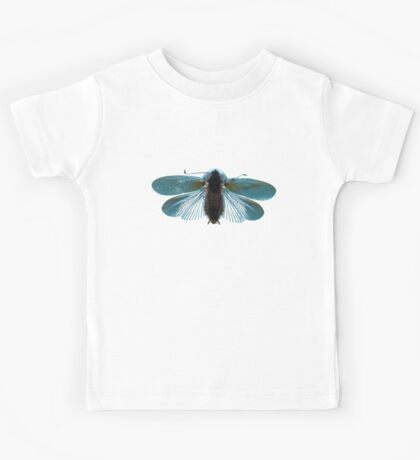 Blue Moth Kids Tee