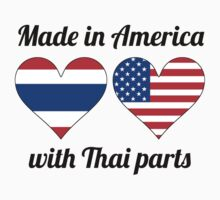 Made In America With Thai Parts Baby Tee