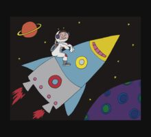 Rocket to Outer Space Kids Clothes