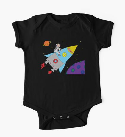 Rocket to Outer Space One Piece - Short Sleeve
